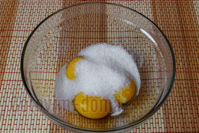 желтки с сахаром