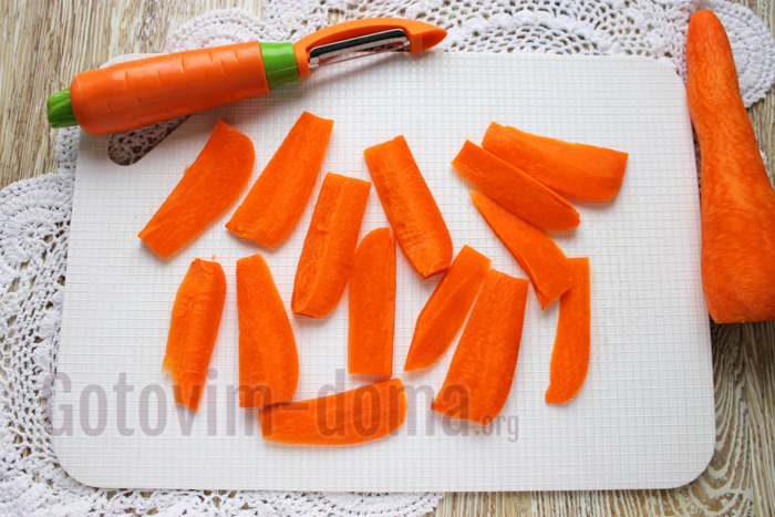 морковка для палочек