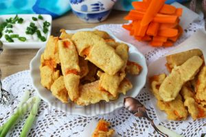 жареные морковные палочки рецепт