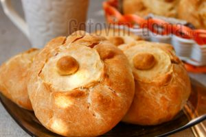 Мини-курники с картошкой и курицей, рецепт с фото