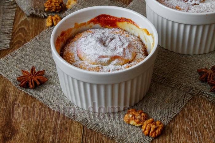 Легкий рецепт яблочного пирога с апельсинами и орехами