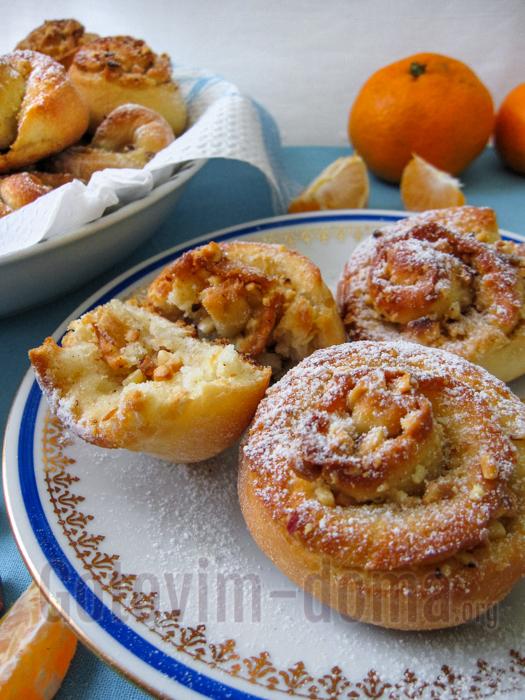 Вкусные постные булочки в духовке
