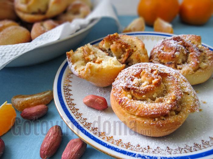 Вкусные постные булочки, рецепт с фото