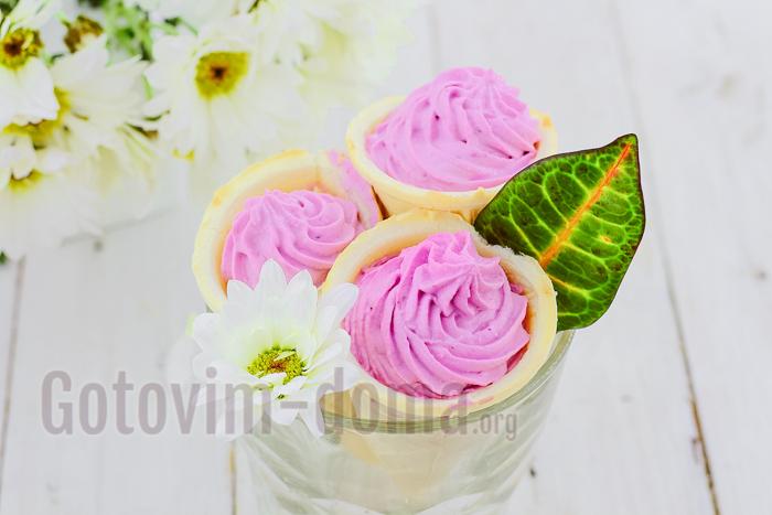 вкусный и красивый творожный десерт рецепт