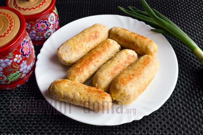вкусные домашние сосиски фото