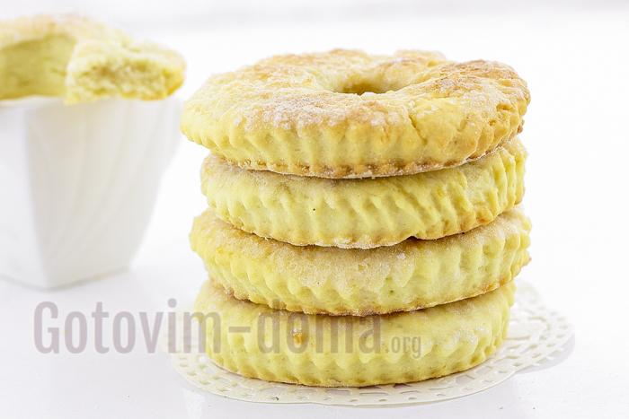 очень вкусное сахарное печенье рецепт с фото пошагово