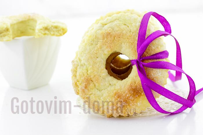 очень вкусное сахарное печенье