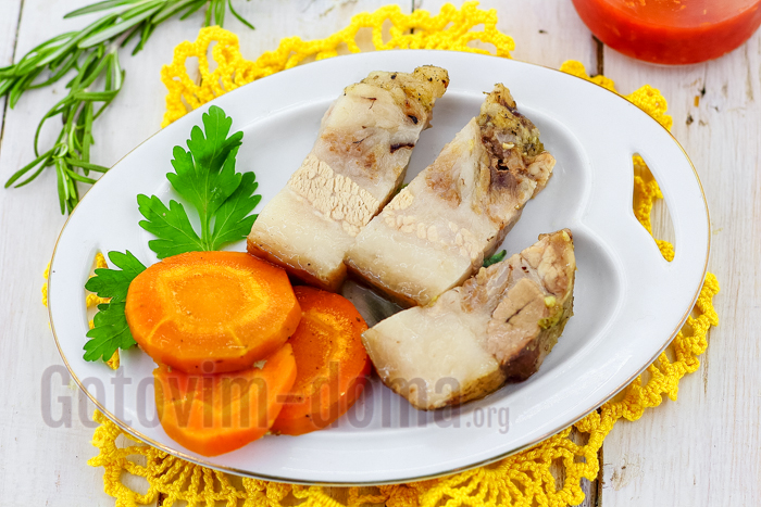 Шея свиная, запеченная в духовке рецепт с фото пошагово