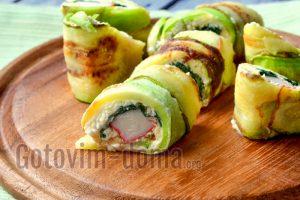 праздничная закуска из кабачков рецепт