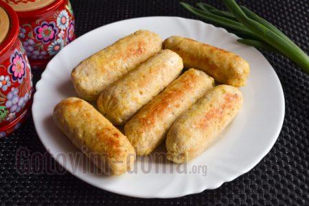 вкусные сосиски из курицы в домашних условиях