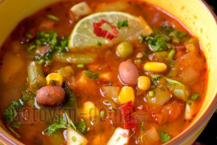 рецепт мексиканского супа вкусно и недорого