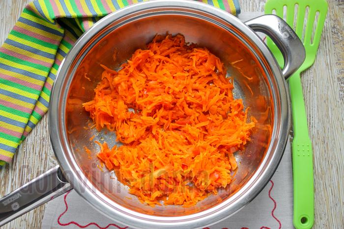 перекладываем морковь