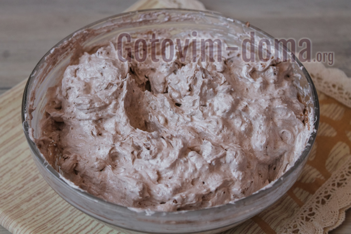 тесто для ореховой меренги