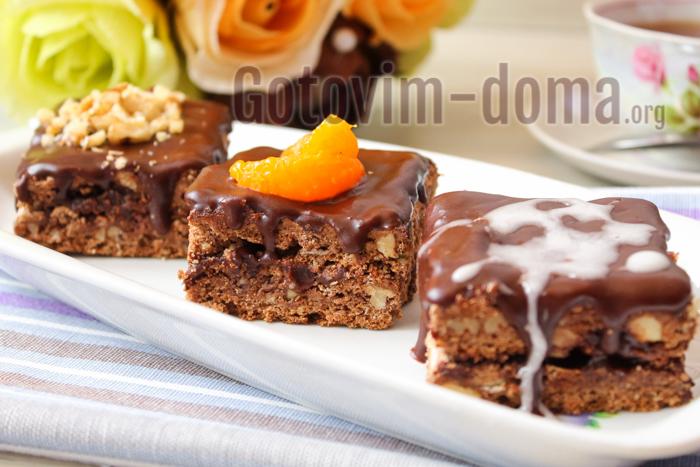 шоколадный птифур рецепт