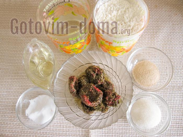 хлеб с вялеными томатами ингредиенты