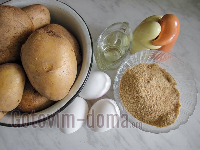 картофельные крокеты ингредиенты