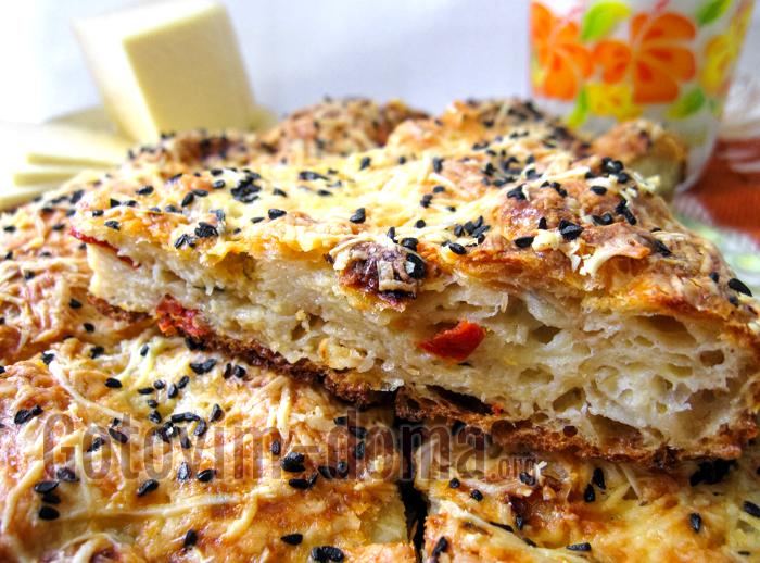 рваный пирог из лаваша рецепт