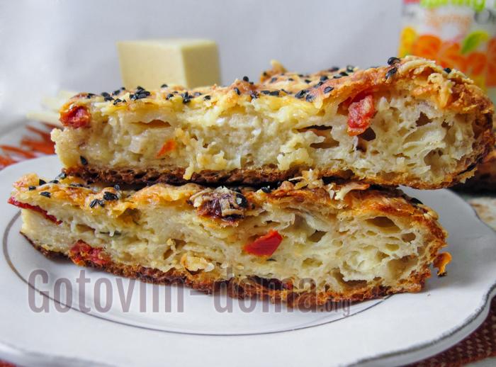 Рваный пирог из лаваша в духовке рецепты