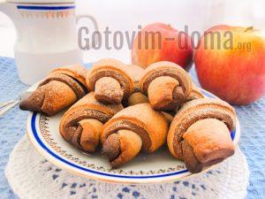 мягкое Печенье из дрожжевого теста