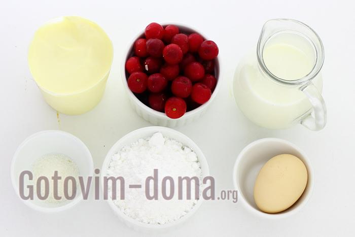 Вишневое мороженое в домашних условиях, рецепт с фото.