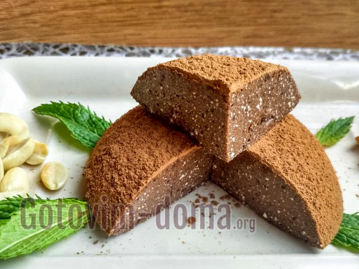Творожный торт с агар-агаром