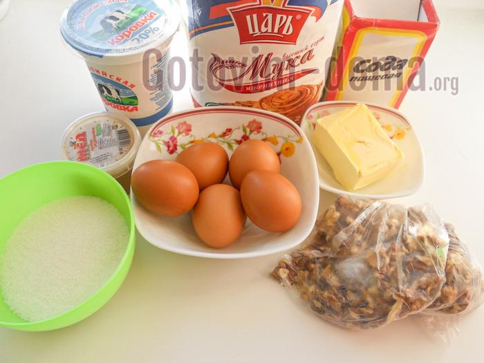 пахлава ингредиенты