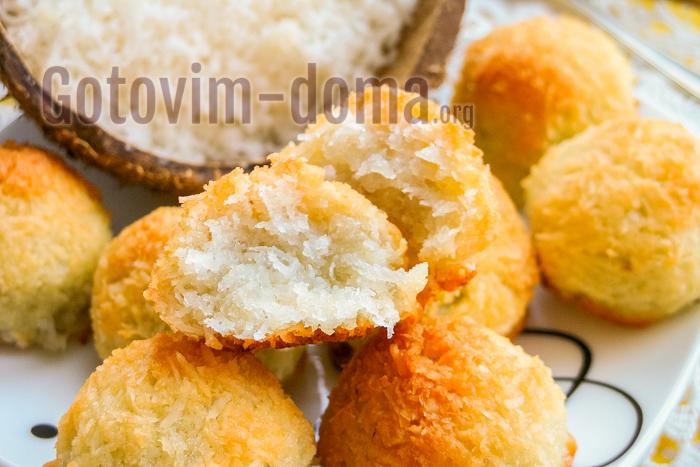 кокосовое печенье рецепт с фото пошагово
