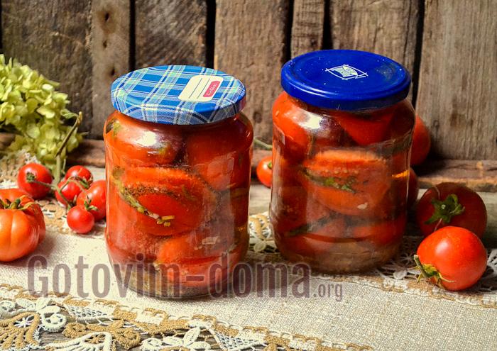 фаршированные помидоры пошагово с фото
