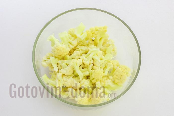 подготавливаем цветную капусту