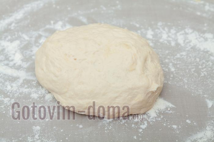 дрожжевое тесто готово
