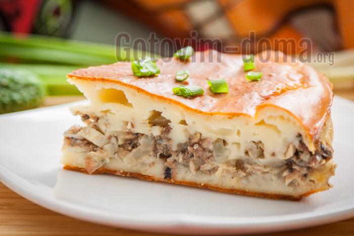 рыбный пирог рецепт простой и быстрый