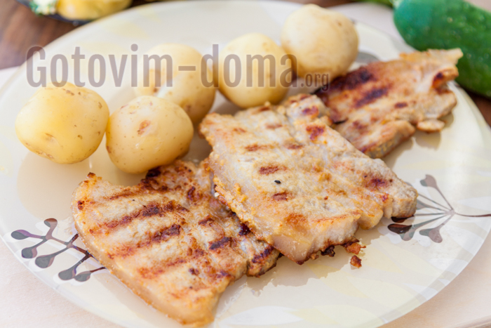 рецепт стейка из говядины на электрогриле рецепты