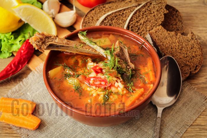 узбекский суп мастава