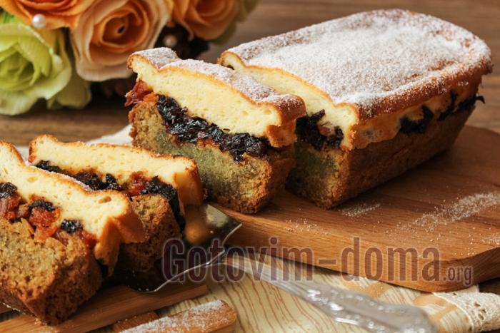 Творожный кекс, самый вкусный рецепт в духовке
