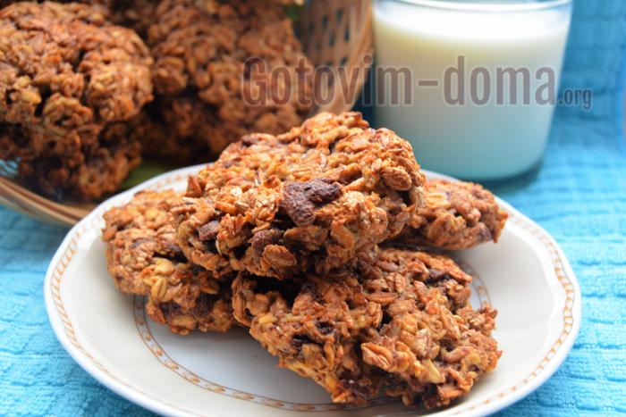 Печенье из мюсли, рецепт с фото.