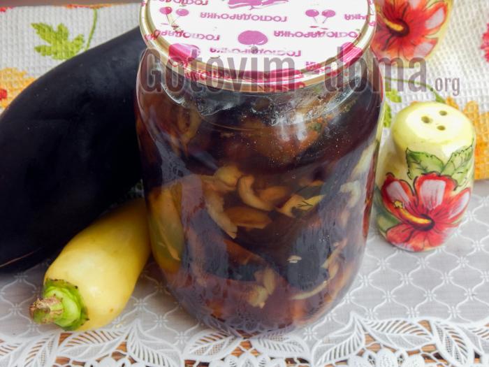 баклажаны с медом на зиму, рецепт с фото