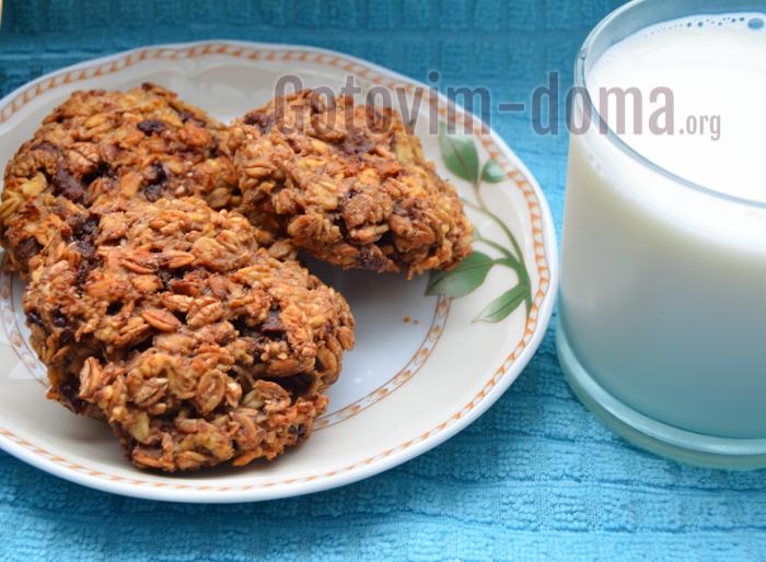 печенье из хлопьев мюсли