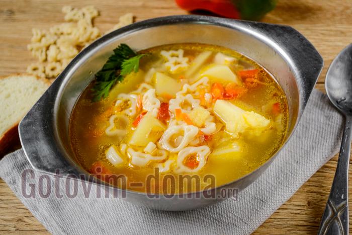 Куриный суп с вермишелью для годовалого ребенка — pic 9