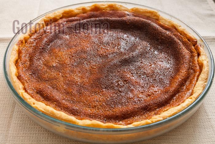 тыквенный пирог готов