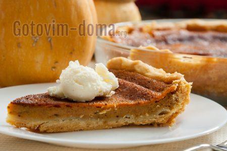Американский пирог из тыквы, рецепт с фото