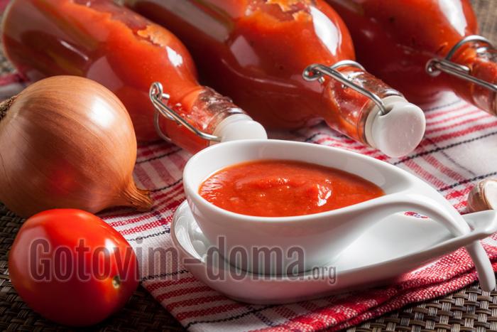 Домашний кетчуп на зиму Пальчики оближешь