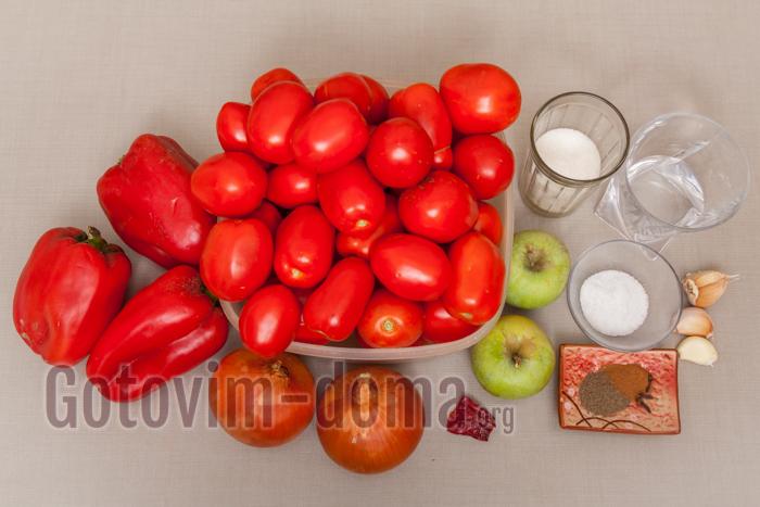 кетчуп ингредиенты