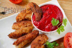 Наггетсы куриные в домашних условиях на сковороде, рецепт с фото