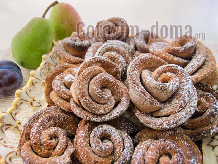 творожное печенье розочки рецепт с фото пошагово