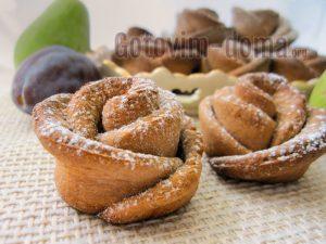 Печенье розочки из творожного теста, самый правильный рецепт