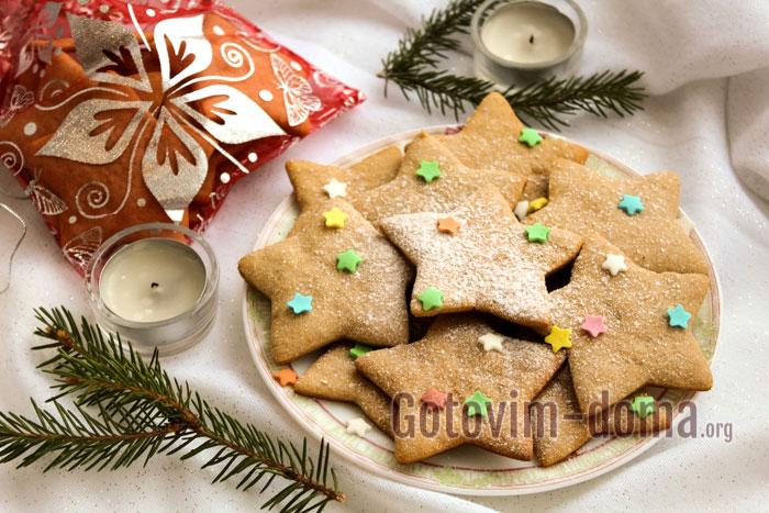 Имбирное печенье готовим дома