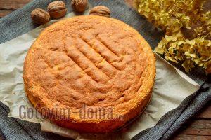 Ореховый бисквит, рецепт с фото