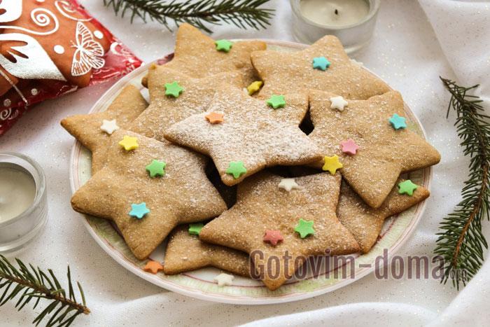 необычное имбирное печенье