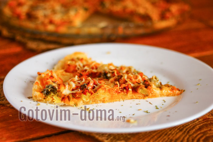 пирог из цветной капусты и брокколи пошаговый рецепт