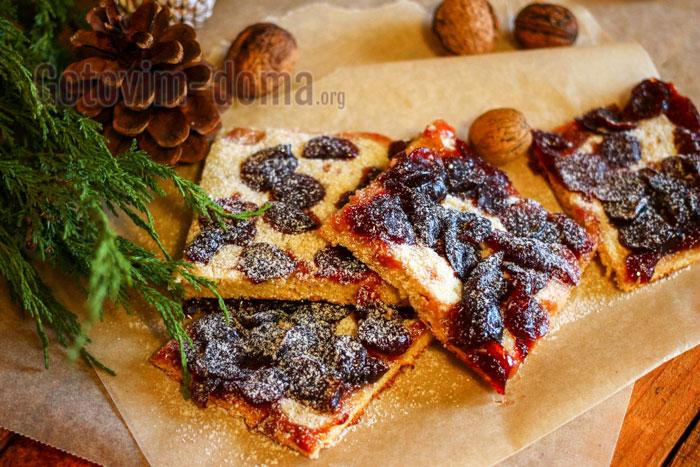 готовим дома вишнёвый пирог с рисовой мукой
